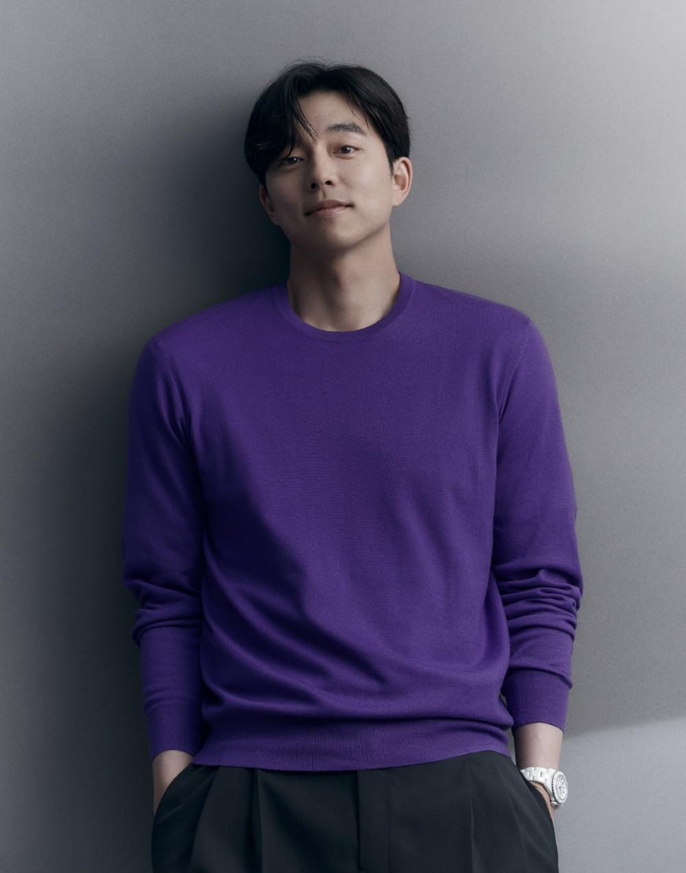 Vẻ đẹp nam tính của Gong Yoo