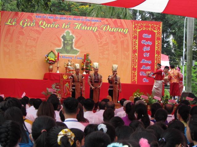 Hoạt cảnh sân khấu tại hiện thời đại Hùng Vương