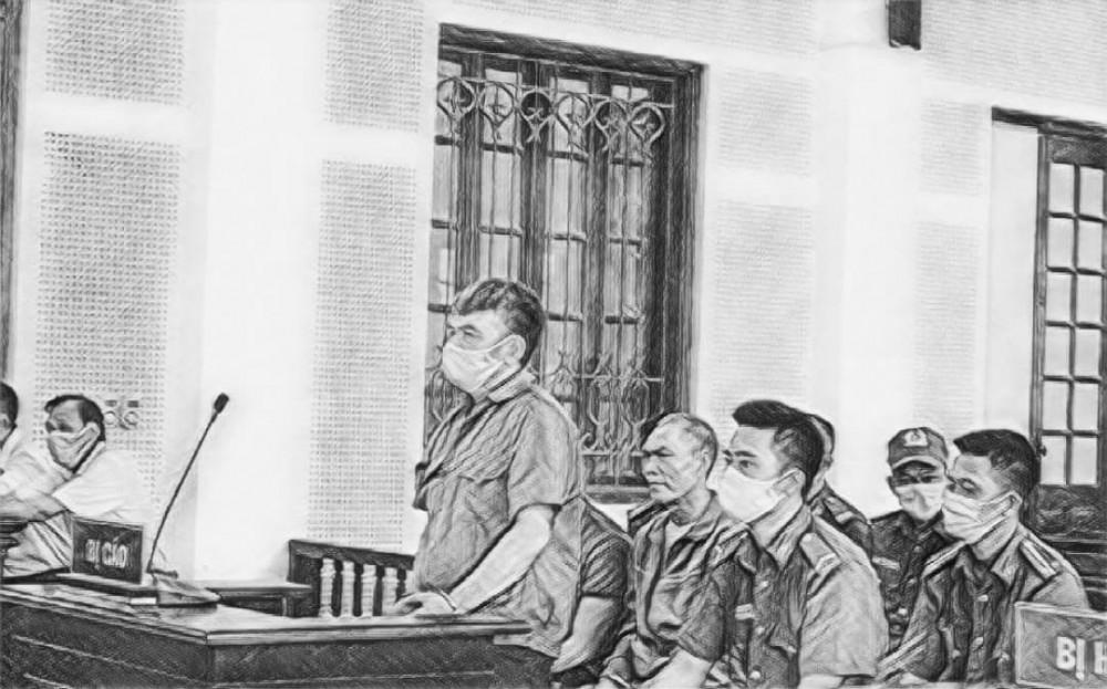 Bị cáo Hà Trúc tại phiên tòa phúc thẩm