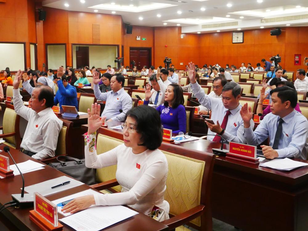 Kỳ họp xem xét nhiều nội dung quan trọng và dự kiến tiến hành bầu bổ sung một Phó chủ tịch HĐND TPHCM khóa IX, nhiệm kỳ 2016-2021
