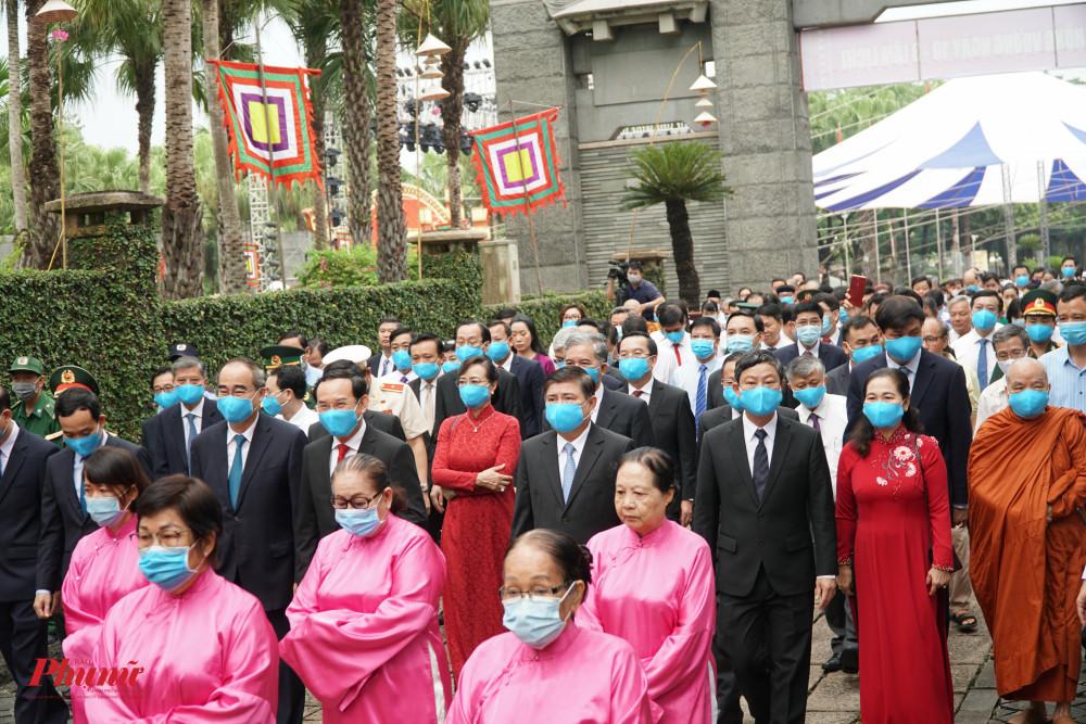 Lãnh đạo Thành Phố dâng hương ngày giỗ Tổ vua Hùng