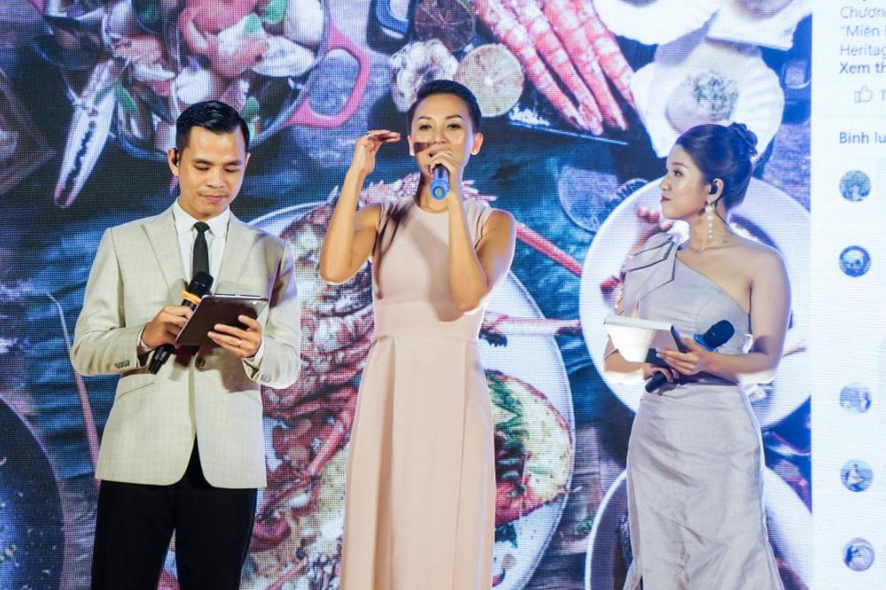 Tuyết Phạm - Á quân MasterChef Việt Nam - chia sẻ câu chuyện diệu kỳ ẩm thực miền Trung  tại chương trình Miền Trung - Miền di sản diệu kỳ