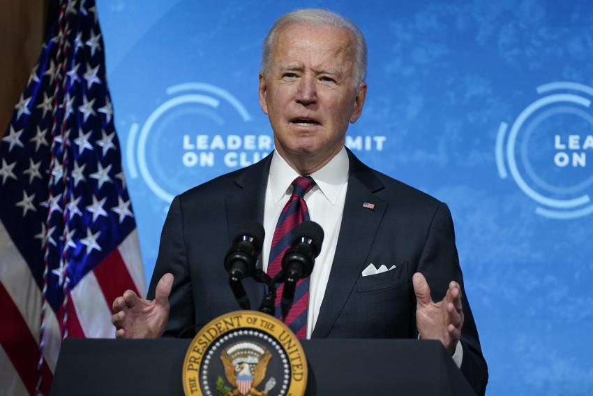 Tổng thống Joe Biden phát biểu tại Hội nghị thượng đỉnh các nhà lãnh đạo ảo về Khí hậu,