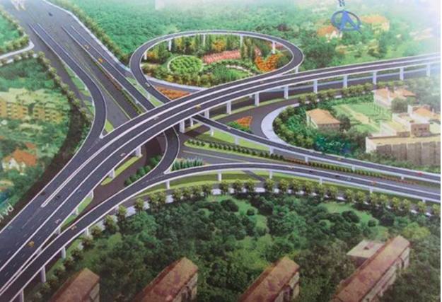 Phối cảnh nút giao thông An Phú - TP. Thủ Đức