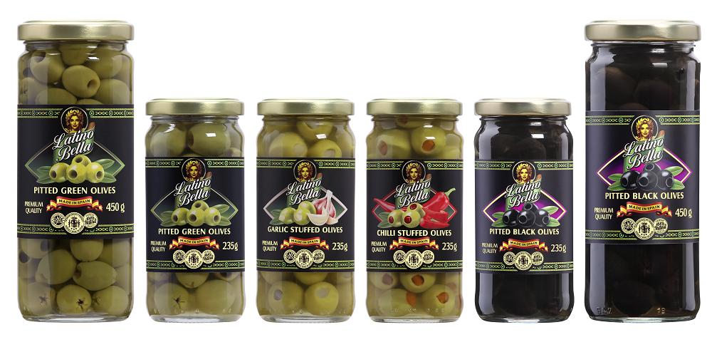 Những trái ô liu của Latino Bella được sản xuất tại vùng đất Andalusia, Tây Ban Nha