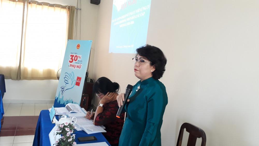 Bà Tô Thị Bích Châu chia sẻ về trách nhiệm cũng như những điều mà ứng cử viên cần phải chuẩn bị cho quá trình ứng cử HĐND các cấp