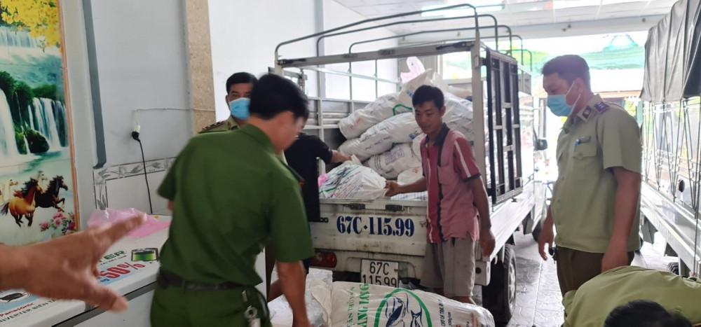 Số thực phẩm chay với hàng loạt vi phạm tại cơ sở của bà Phan Thị Bích Tuyền