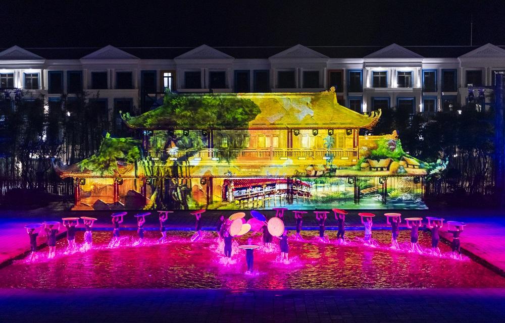 Tinh hoa Việt Nam nhận kỷ lục: chương trình nghệ thuật thực cảnh sử dụng công nghệ trình diễn 3D hiện đại tái hiện các điển tích lịch sử truyền thống của Việt Nam nhiều nhất