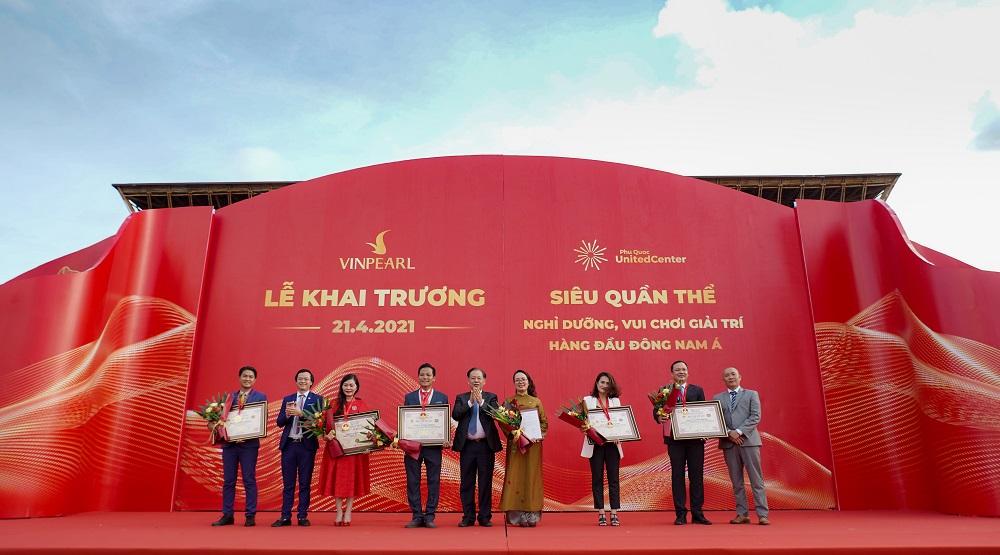Siêu quần thể không ngủ đầu tiên của Phú Quốc lập kỷ lục khi cùng lúc được công nhận 5 kỷ lục quốc gia. Ảnh: Vingroup