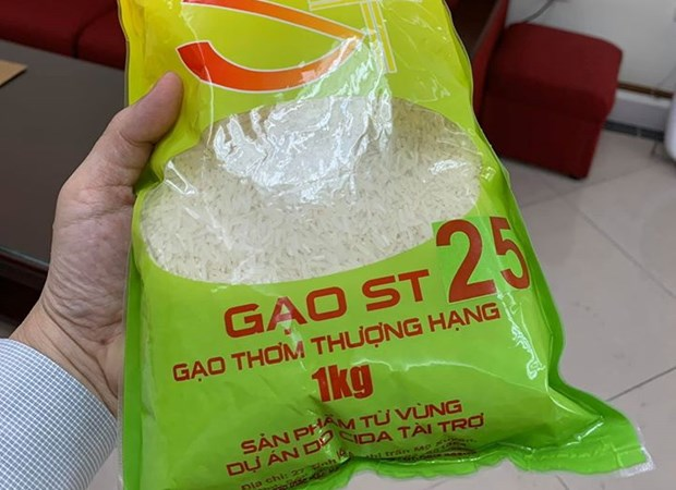 Gạo ST25 cần được doanh nghiệp Việt Nam đăng ký bảo hộ thương hiệu.