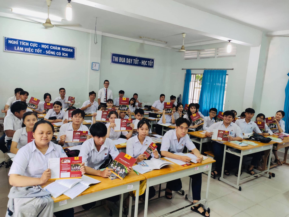 Nhóm ngành quản trị khách sạn, quản trị nhà hàng và dịch vụ ăn uống được các học sinh Trường THPT Nguyễn Thái Bình (tỉnh Tây Ninh) đặc biệt quan tâm. Ảnh: Nova College