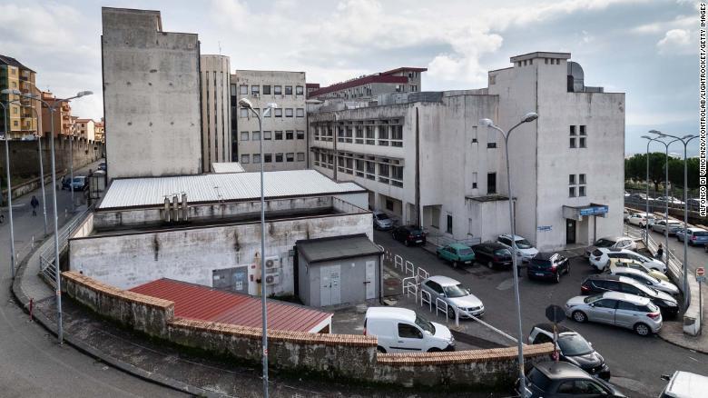 Hình ảnh bệnh viện Pugliese Ciaccio ở Catanzaro