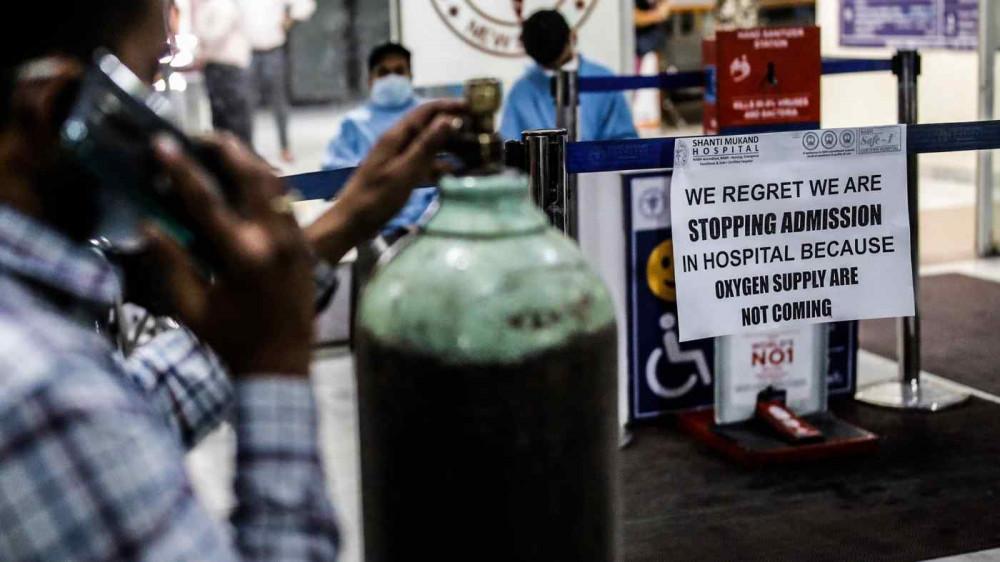 Các bệnh viện ở Ấn Độ đang thiếu hụt oxygen