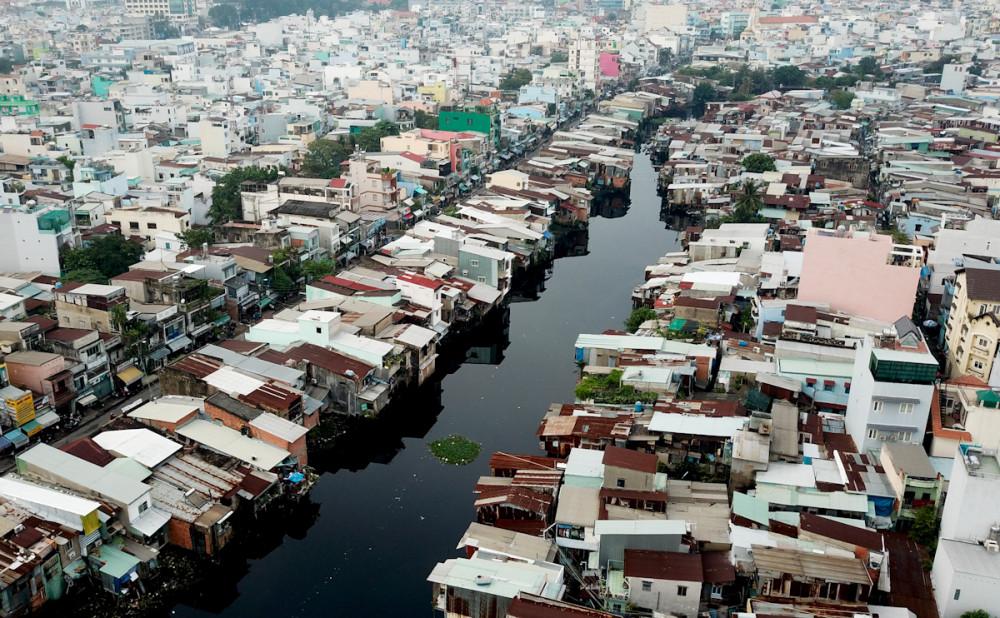 Sẽ có gần 2.200 hộ dân bị giải tỏa để thực hiện dự án rạch Xuyên Tâm