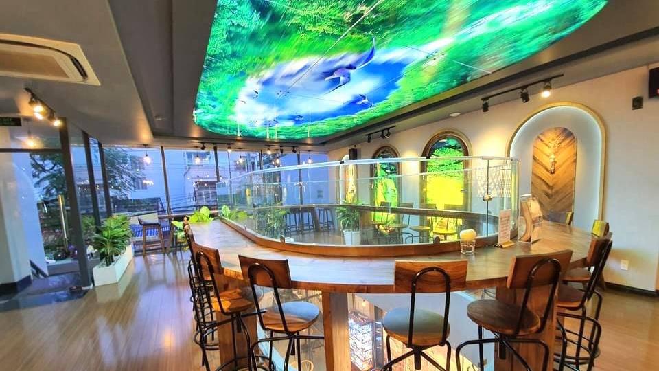 Trung tâm triển lãm tranh 3D tại Tân Phú mở cửa miễn phí phục vụ nhu cầu tham quan và thưởng thức ẩm thực