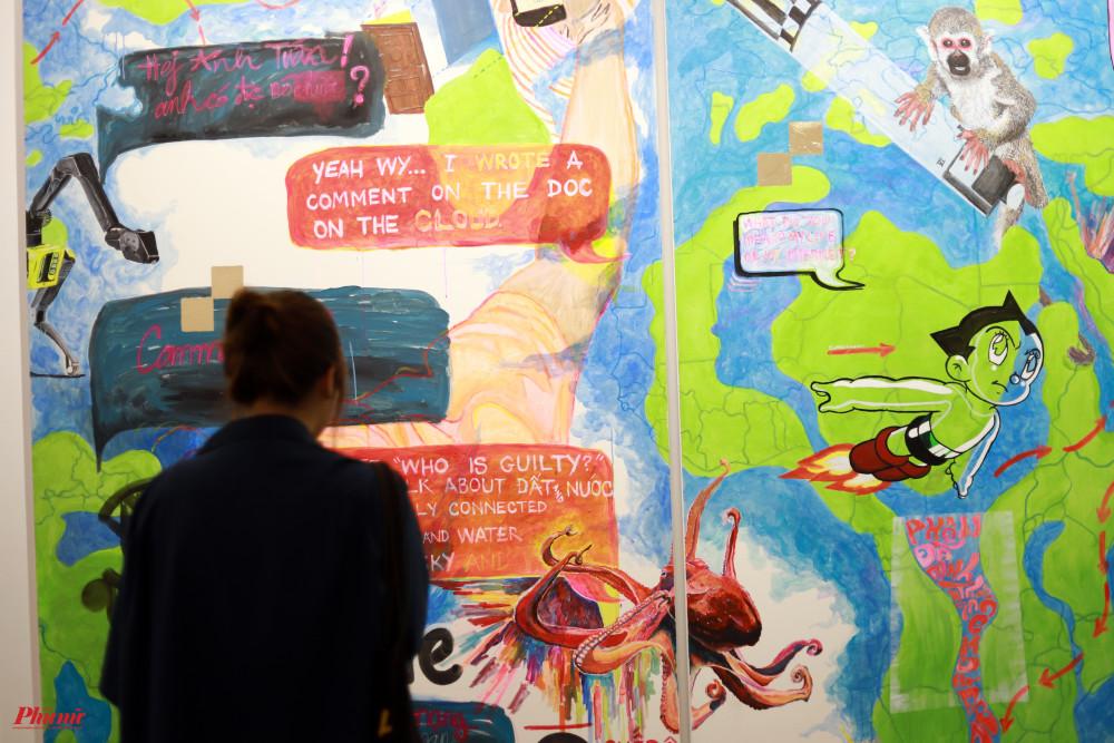Những màn đối thoại giữa 2 nghệ sĩ