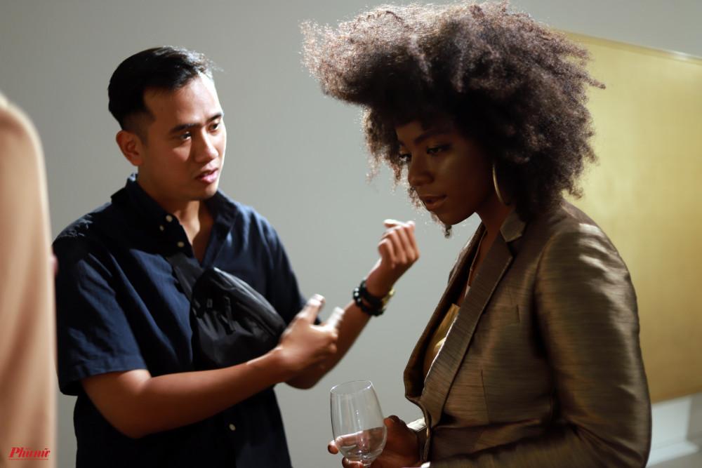 Người mẫu Huỳnh Tiên xuất hiện trong phim ngắn.