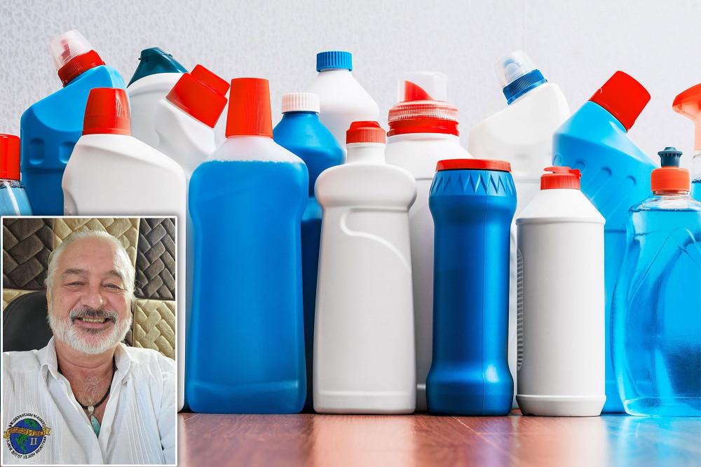 Mark Grenon và các con trai đã hô biến hàng chục nghìn bình thuốc tẩy thành nước thần chữa bách bệnh