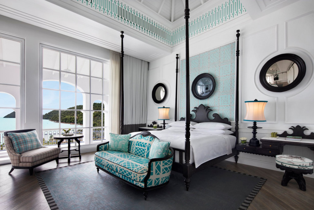 JW Marriott Phu Quoc Emerald Bay được thiết kế dựa trên cảm hứng về một trường đại học viễn tưởng