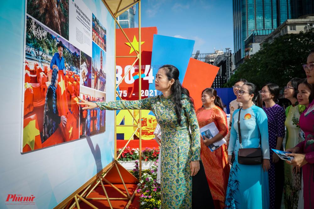 Bà Lâm Thị Ngọc Hoa - Phó Chủ tịch Thường trực Hội LHPN TPHCM