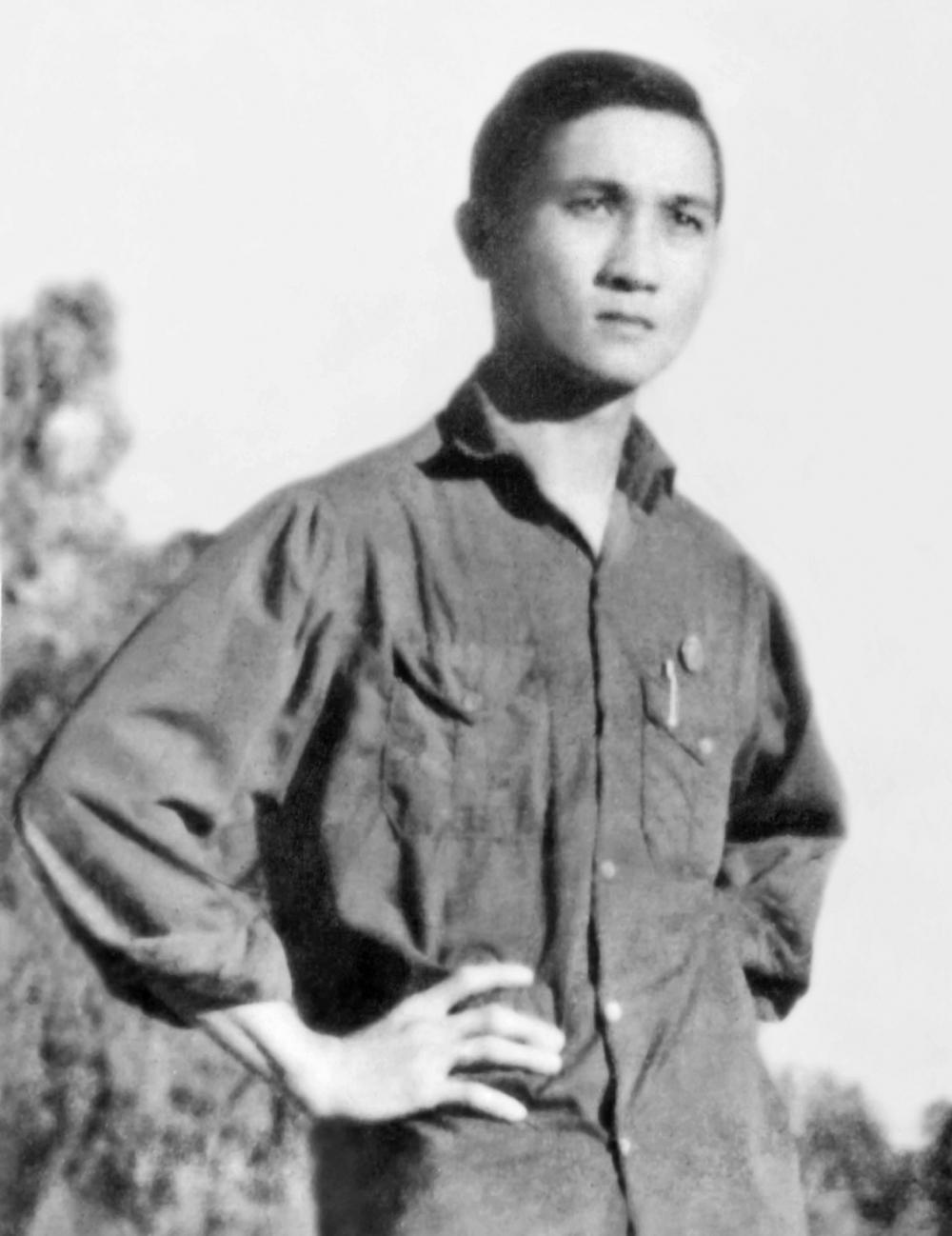 Ông Hồ Ngọc Anh năm 1972