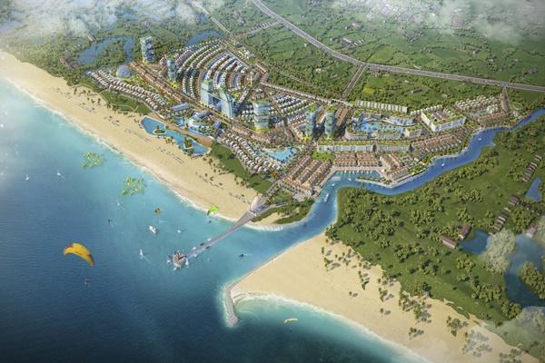 Dự án Venezia Beach - Luxury Residences & Resort nổi bật giữa Hồ Tràm - Bình Châu
