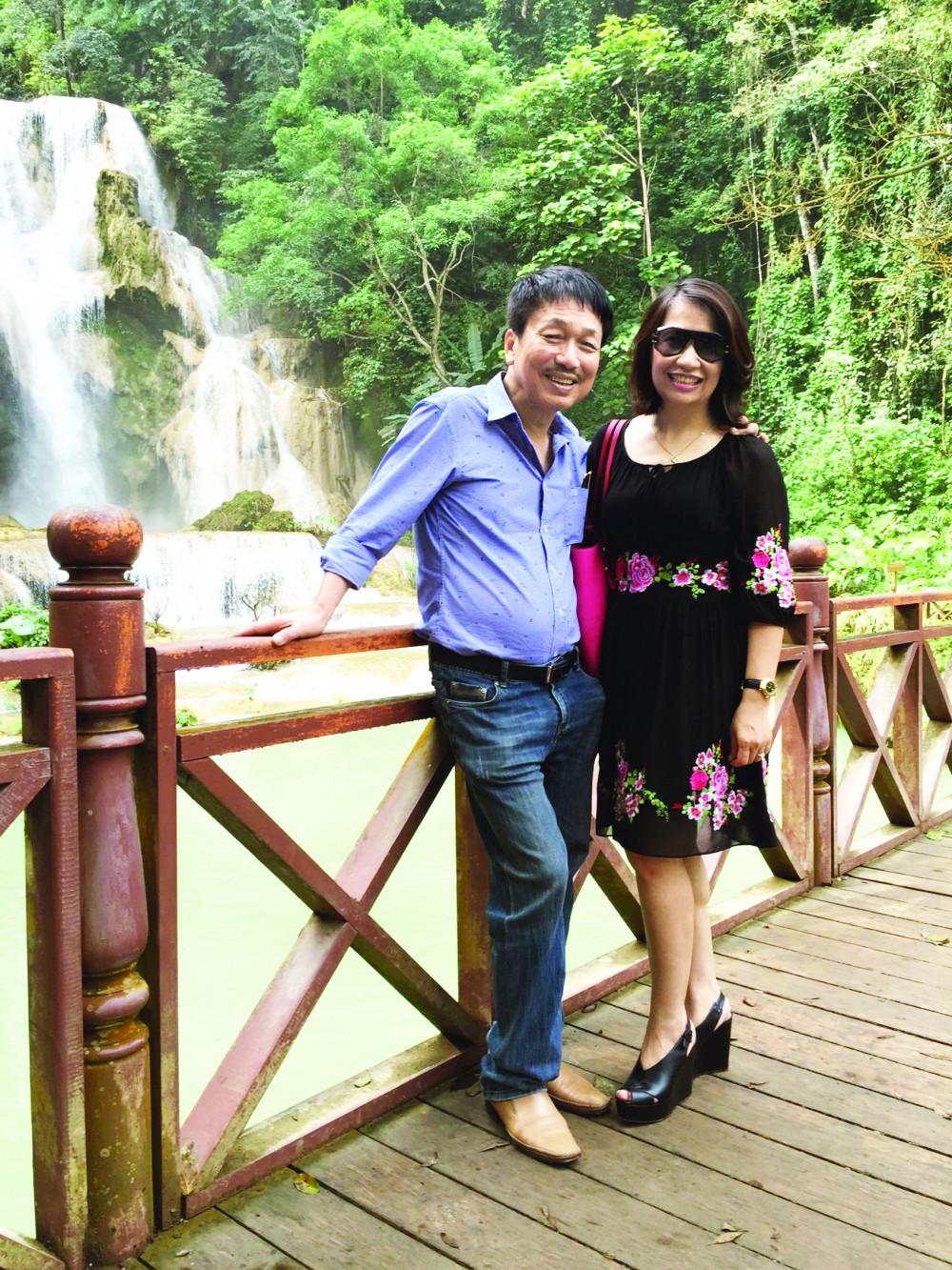 Vợ chồng nhạc sĩ Phú Quang