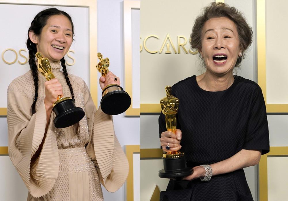 Chloé Zhao, Youn Yuh Jung đem lại niềm tự hào châu Á