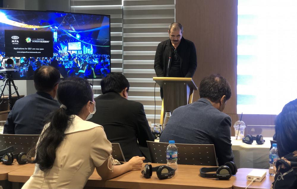 Đạo diễn Bùi Thạc Chuyên công bố ra mắt quỹ điện ảnh MPA APSA Academy hỗ trợ các nhà làm phim