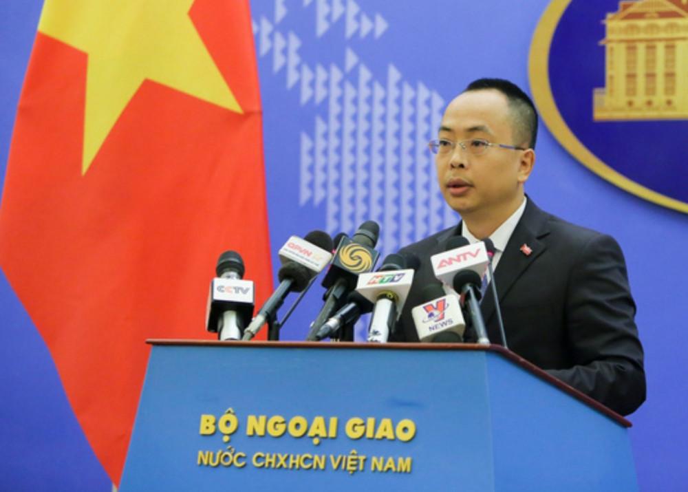Phó phát ngôn Bộ Ngoại giao Việt Nam Đoàn Khắc Việt