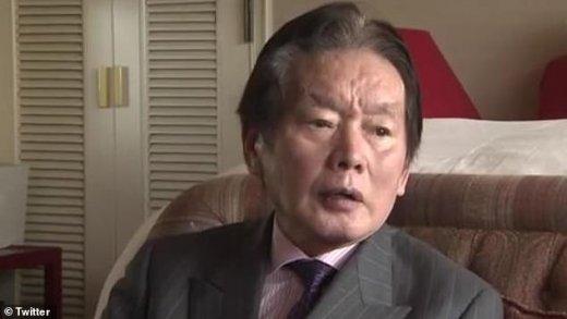 Ông Kosuke Nozaki là một tỷ phú lắm tiền nhiều tật ở Nhật Bản - Ảnh: