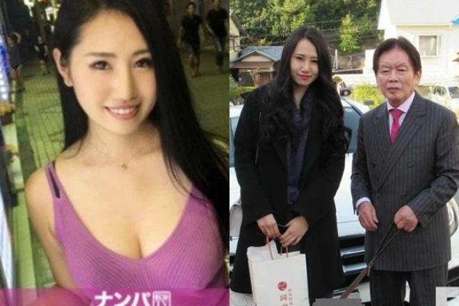 Vị đại gia U80 Kosuke Nozaki tin rằng, mình đã tìm được bến đổ cuộc đời với người đẹp Sudo Saki 22 tuổi