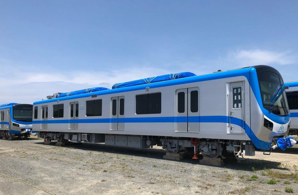 Hình ảnh đoàn tàu số 2 và số 3 của tuyến metro số 1 tại Nhật Bản. Ảnh: Hitachi