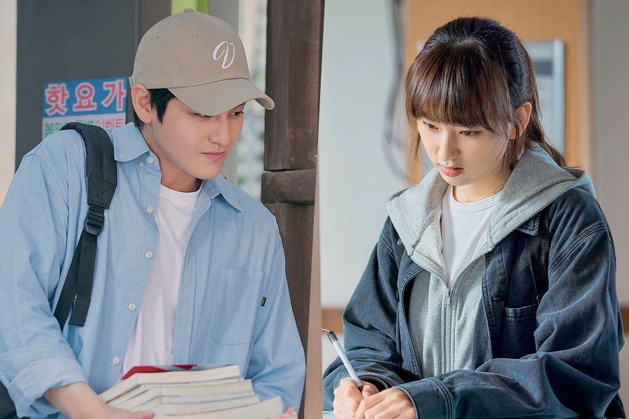 Tạo hình của Kim Bum và Ryu Hye Young trong Trường luật