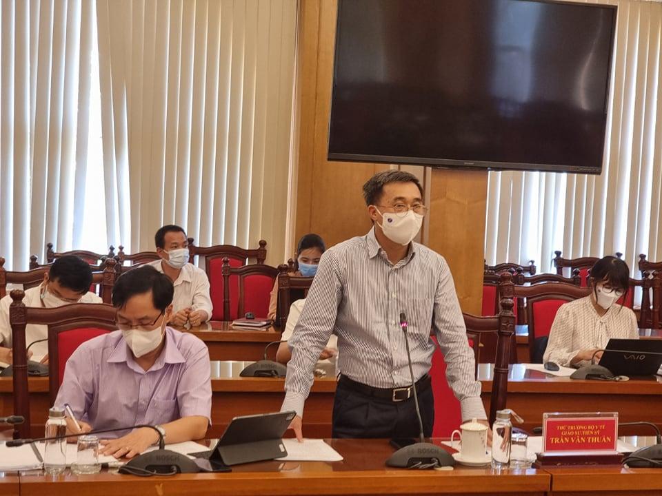 BoojY tế làm việc khẩn với UBND tỉnh Vĩnh Phúc sau chùm ca bệnh dương tính với virus SARS-CoV-2