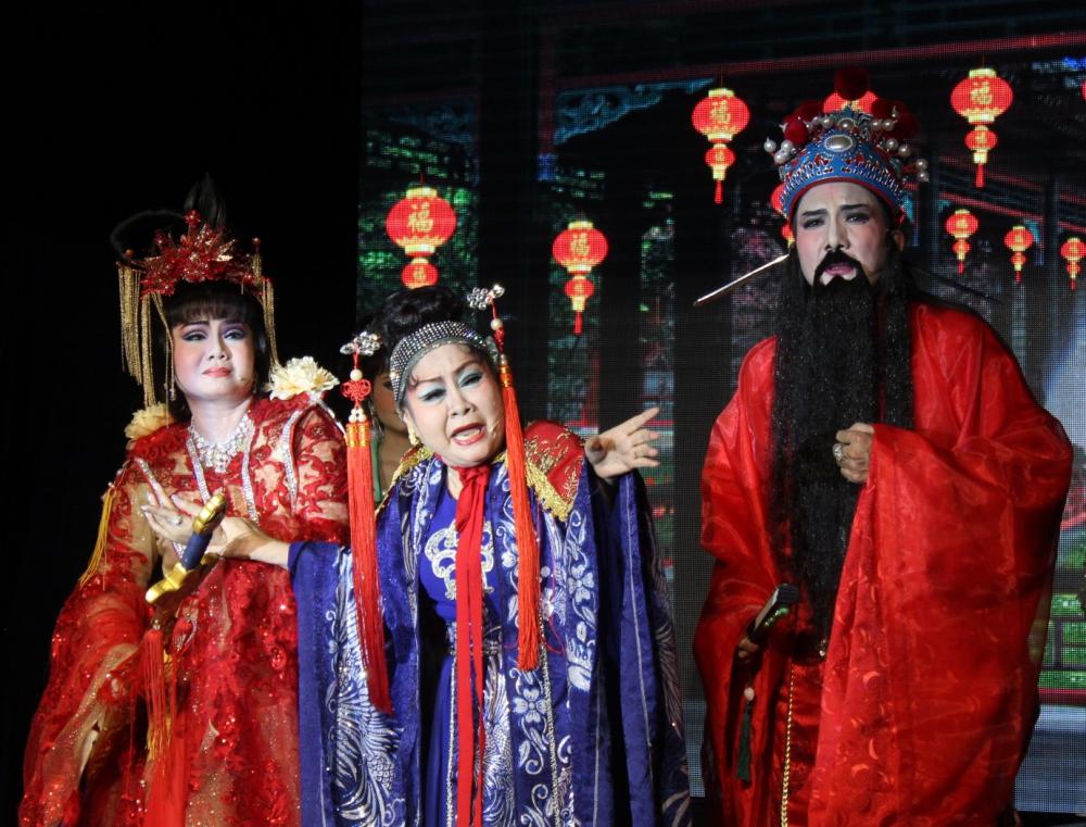 Ngô quốc thái là vai diễn ruột của nghệ sĩ Xuân Yến, bà vẫn đầy phong độ trong lần tái xuất này.