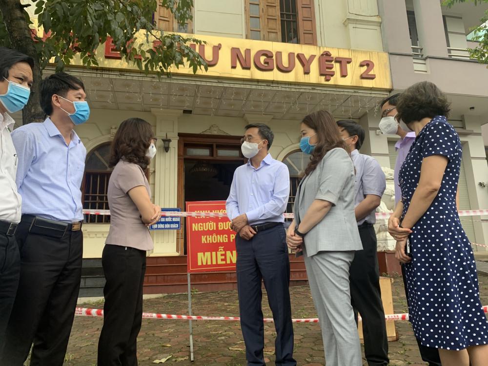 Bộ Y tế từng làm việc với Yên Bái sau khi xảy ra vụ việc lễ tân lây COVID-19 từ chuyên gia Ấn Độ