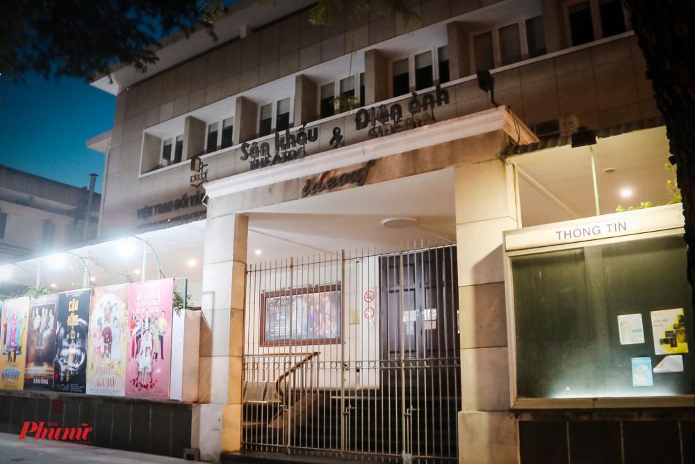 Sân khâu kịch Idecaf trên đường Lê Thánh Tôn (Quận 1) đã đóng cửa