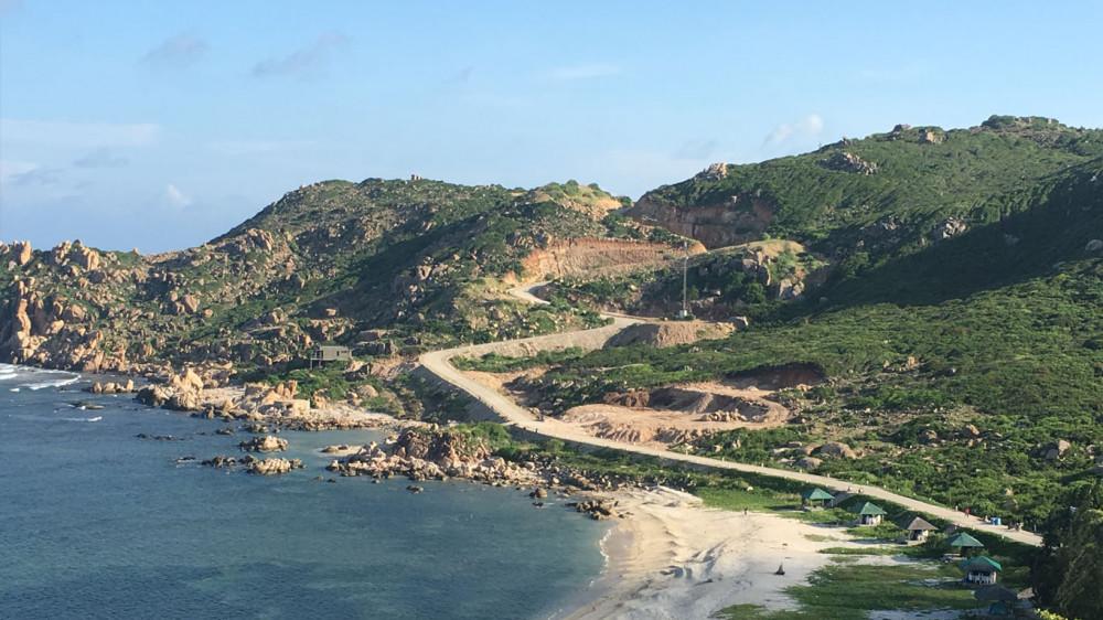Khu vực dự án Anami Bình Ba mà tỉnh Khánh Hòa sẽ cưỡng chế để thu hồi dự án. Ảnh: Anami