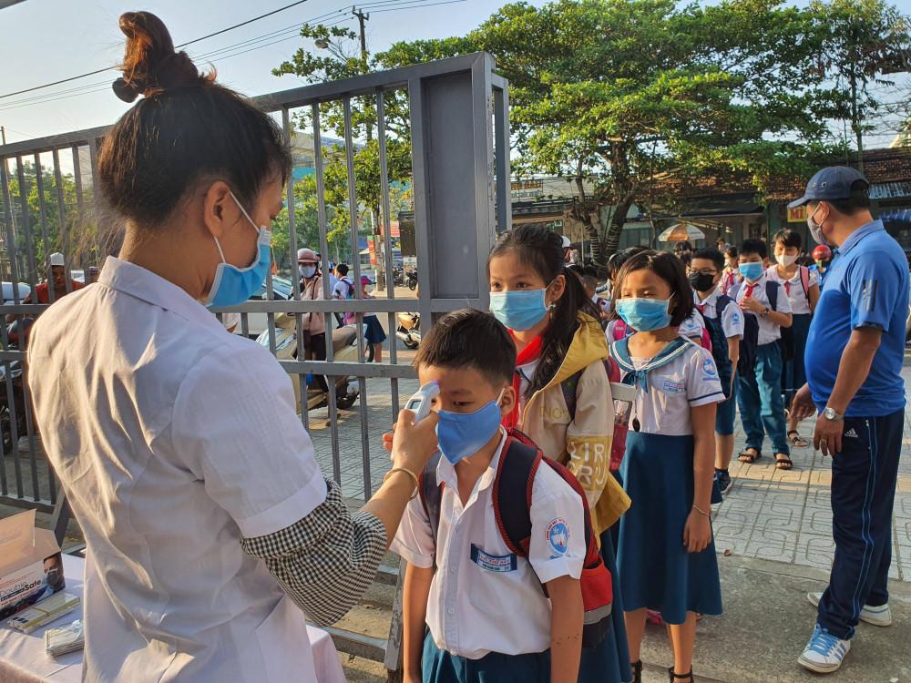 Học sinh các cấp tại Quảng Nam được nghỉ học từ ngày 4/5 để tăng cường phòng chống dịch COVID-19