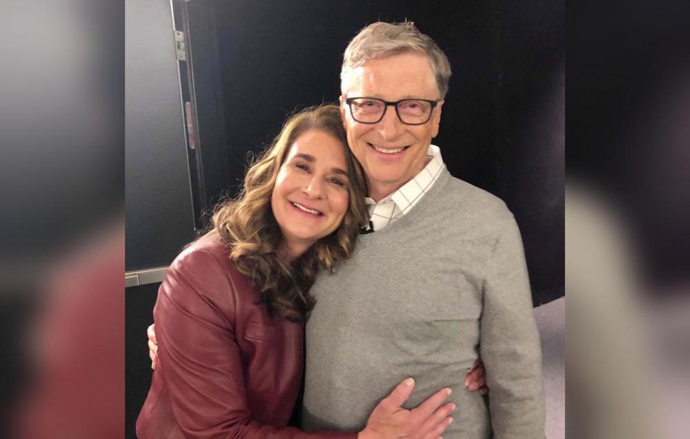 Bill và Melinda Gates đã bắt đầu cuộc hôn nhân 27 năm bằng một mối tình lãng mạn nơi công sở - Ảnh: Getty Images