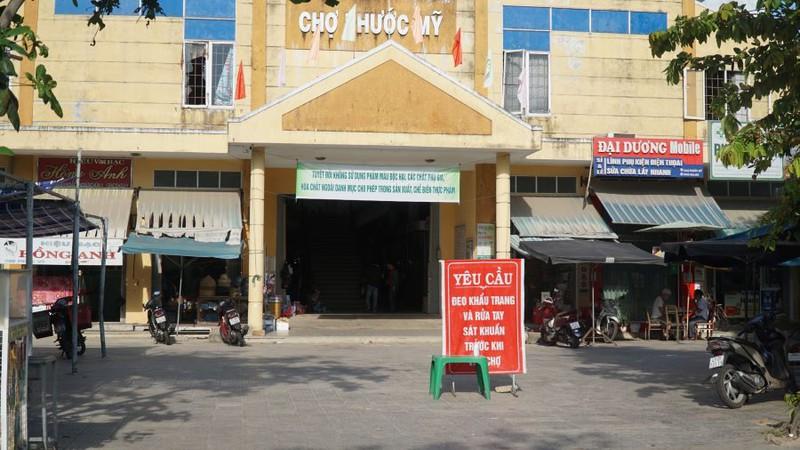 Chợ Phước Mỹ (quận Sơn Trà, TP. Đà Nẵng). Ảnh: Bùi Toàn