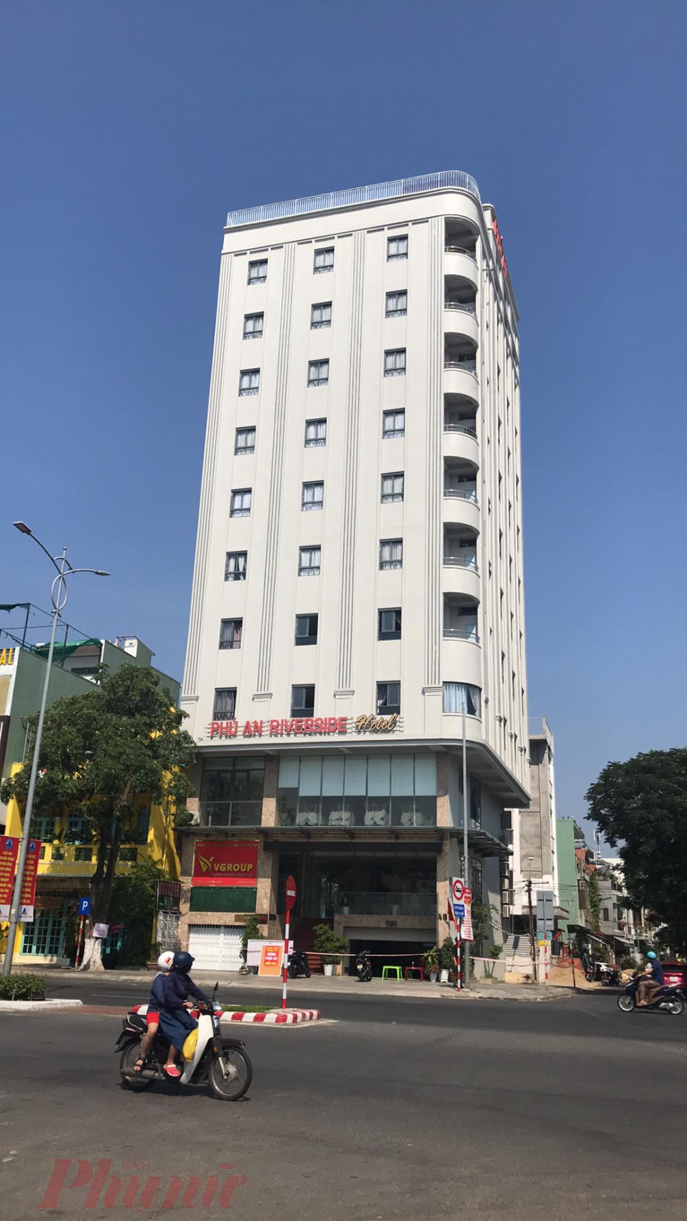 Khách sạn Phú An đã được Đà Nẵng quyết định phong tỏa cách ly vào ngày 3/5