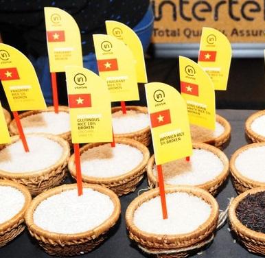 Gạo Việt Nam bán tại Vương quốc Anh đều mang thương hiệu của các nhà phân phối của nước này
