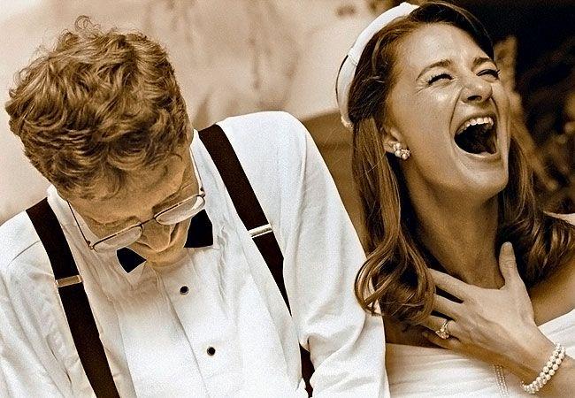 Năm 1994, họ kết hôn. Hình ảnh trong hôn lễ chỉ được Melinda hé lộ trong tiệc kỷ niệm 25 năm ngày cưới, diễn ra năm 2019.