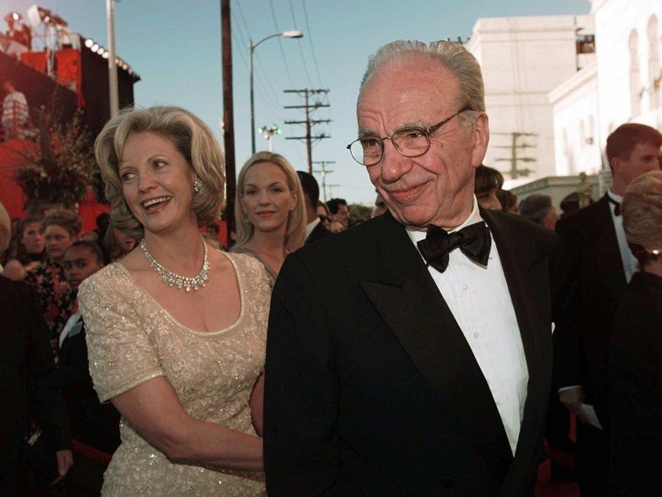 Rupert Murdoch và Anna Tory ly hôn sau 31 năm chung sống