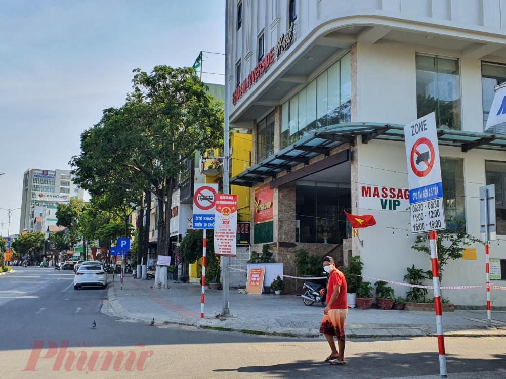 Khách sạn Phú An, nơi bệnh nhân số 2982 và nữ nhân viên massage dương tính với SARS-CoV-2 làm việc