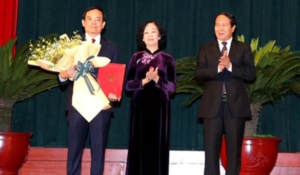 Ủy viên Trung ương Đảng, Phó Bí thư thường trực Thành ủy TPHCM - giữ chức Bí thư Thành ủy TP.Hải Phòng, nhiệm kỳ 2020-2025