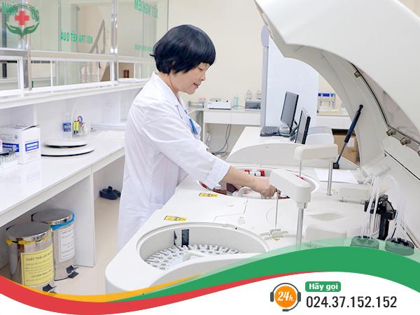 Hệ thống trang thiết bị hiện đại tại phòng khám. Ảnh: PKĐK Quốc tế Hà Nội