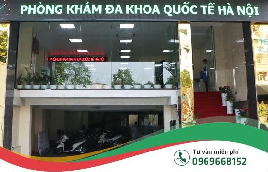 Phòng khám đa khoa quốc tế Hà Nội - địa chỉ khám phụ khoa uy tín, tin cậy